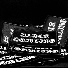 BLACK HOWLING - logo - PATCH