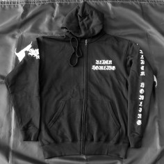 BLACK HOWLING -  Zip Hooded...
