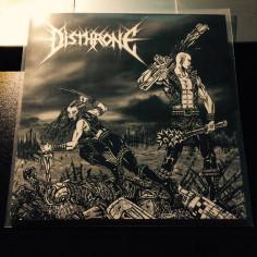 """DISTHRONE - Retaliação - 7""""EP"""