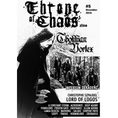 THRONE OF CHAOS - #5 - ZINE