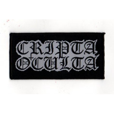 CRIPTA OCULTA - Logo - PATCH